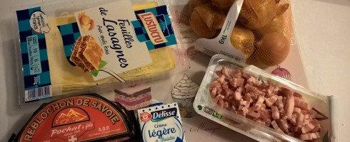 Lasagnes façon «Tartiflette»