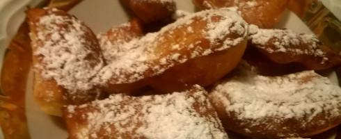 Bugnes ou beignets de Carnaval